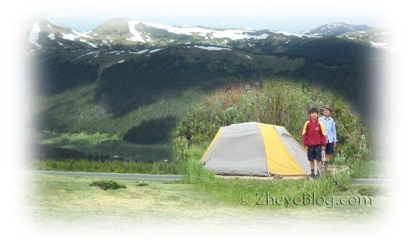 落基山国家公园露营记